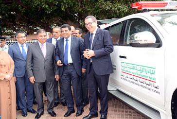 Agadir: Remise de plusieurs véhicules pour l'appui aux secteurs sociaux
