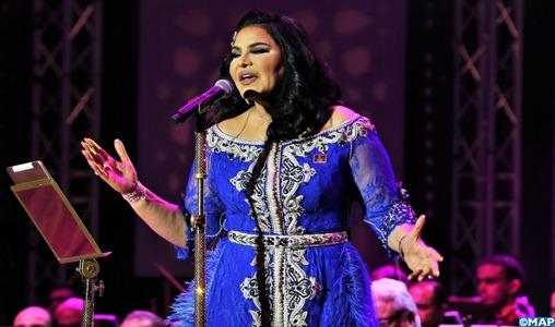 Mawazine 2018: Ahlam se produit sur la scène Nahda_KE