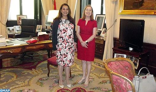 Mme Benyaich rencontre à Madrid la présidente du Congrès des députés espagnol