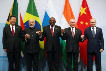 """La Russie et la Chine veulent """"renforcer"""" la coopération économique des Brics"""