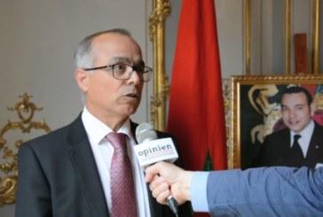 L'ambassadeur du Maroc en France offre une brillante réception à l'occasion de la fête du trône