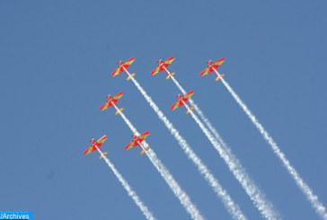 Fête du Trône: Les Forces Royales Air organisent des shows aériens