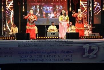 Coup d'envoi à Taroudant de la 12ème édition du Festival Dakka et Rythmes