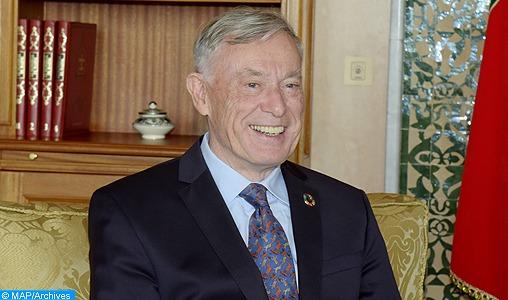 L'Envoyé Personnel du Secrétaire Général des Nations Unies pour le Sahara marocain, M. Horst Köhler