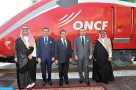 SM le Roi Mohammed VI baptise le Train à Grande Vitesse marocain du nom d'« AL BORAQ »