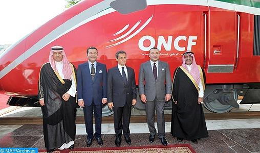 SM le Roi Mohammed VI baptise le Train à Grande Vitesse marocain du nom d'