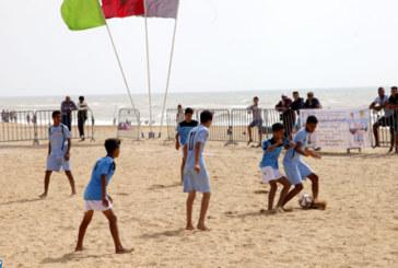 """Laâyoune: Lancement de la 1ère édition du programme national """"sports de plage"""""""