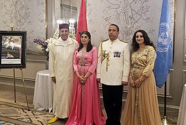 Omar Hilale offre une grandiose réception à New York à l'occasion de la Fête du Trône