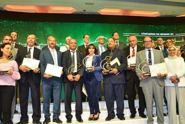 Remise à Rabat du prix Hassan II pour l'environnement