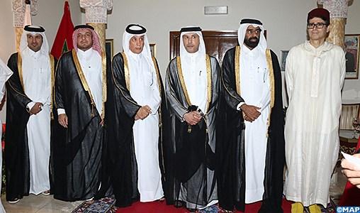 Réception à Doha à l'occasion de la Fête du Trône