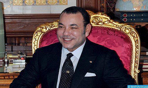 Message de félicitations à SM le Roi du Prince héritier d'Abou Dhabi à l'occasion de la fête du Trône