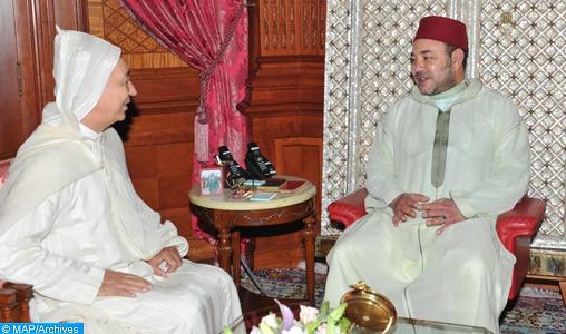 SM le Roi reçoit à Al Hoceima le président de la Cour des Comptes