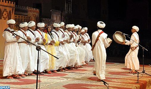 La 7ème édition du Festival national des arts d'Ahwach, du 10 au 12 août à Ouarzazate