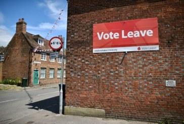 La campagne pro-Brexit se fait aligner pour avoir enfreint le code électoral
