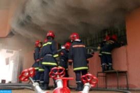 Mohammedia: un gigantesque incendie dans un dépôt de stockage de produits alimentaires