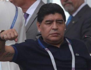 Mondial 2018 : Maradona s'excuse après ses propos sur Angleterre-Colombie