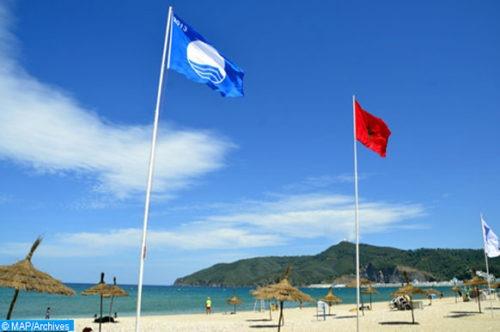 APM Terminals Tangier accompagne la plage de Oued Alian pour arborer le drapeau du pavillon bleu pour la 3ème année consécutive