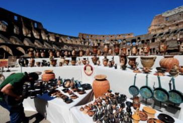 Les polices de quatre pays européens saisissent 25.000 objets archéologiques grecs et romains