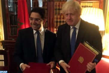 Lancement à Londres du Dialogue stratégique Maroc-Royaume Uni