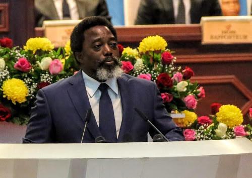 Le président congolais