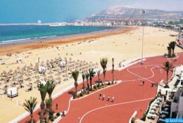 Agadir: Plus de 2,2 millions de nuitées touristiques au premier semestre 2018