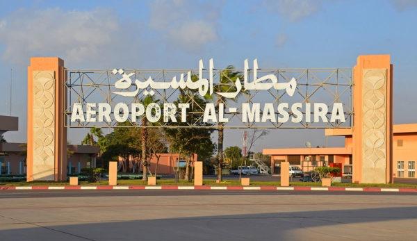 l'aéroport Agadir Al Massira