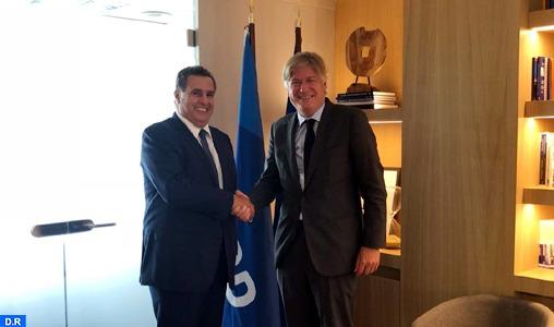 Akhannouch rencontre à Bruxelles le Secrétaire général du PPE