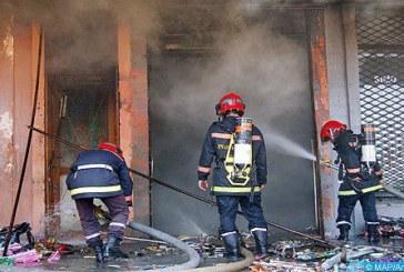 Meknès: Incendie accidentel maîtrisé au rez-de-chaussez de la préfecture de police