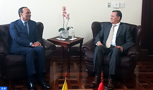 El Malki plaide à Bogotá pour des relations institutionnalisées avec le Congrès colombien