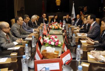 La consolidation de la coopération économique au centre d'entretiens maroco-coréens