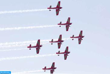 Fête de la Jeunesse : Les Forces Royales Air organisent des shows aériens sur la baie de Bouregreg