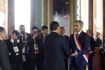 Habib El Malki représente SM le Roi à la cérémonie d'investiture du président paraguayen