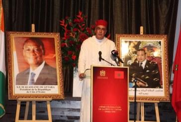 Discours de l'ambassadeur marocain en côte d'Ivoire à l'occasion de la Fête du trône