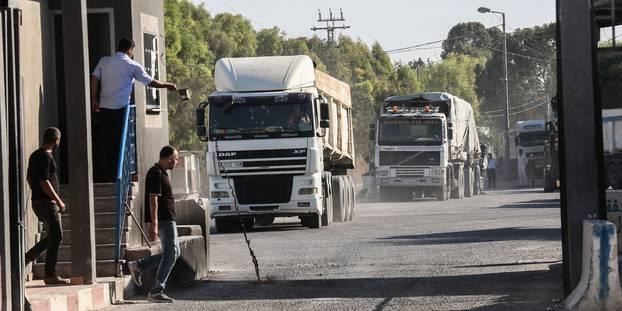 Réouverture par Israël d'un passage vital vers Gaza après des semaines de tensions