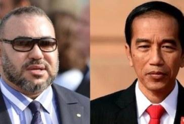 Message de félicitations à SM le Roi du Président indonésien à l'occasion de la fête du trône