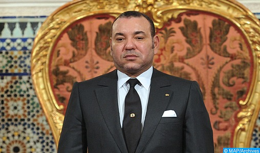 Message de condoléances et de compassion de SM le Roi au Souverain de Jordanie suite aux attaques terroristes