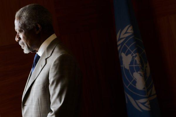 Décès de l'ancien Secrétaire général des Nations-Unies Kofi Annan