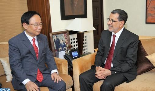 Le Maroc déterminé à renforcer les relations de coopération avec la République de Corée