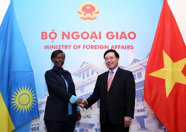 Le Vietnam et le Rwanda