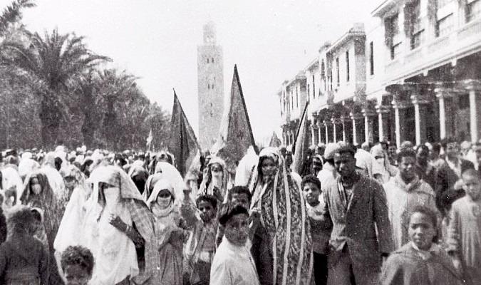 Marrakech: La Manifestation du Mechouar en 1953, une page rayonnante dans l'histoire de la résistance nationale