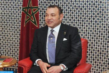 SM le Roi félicite le Président de la République de Moldavie à l'occasion de la fête de l'Indépendance de son pays