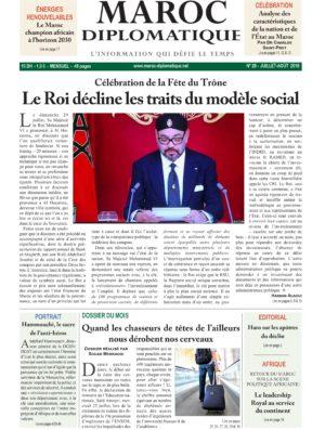 Le numéro 28 de Maroc diplomatique est dans les kiosques