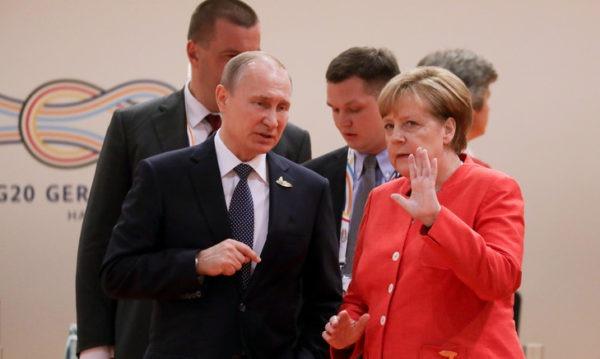 Poutine se rend en Allemagne pour une rencontre avec Merkel