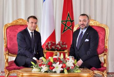 Message de félicitations à SM le Roi du Président français à l'occasion de la Fête de la Jeunesse