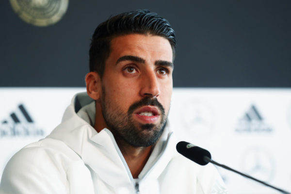 Football: Khedira non retenu pour le match de l'Allemagne contre la France