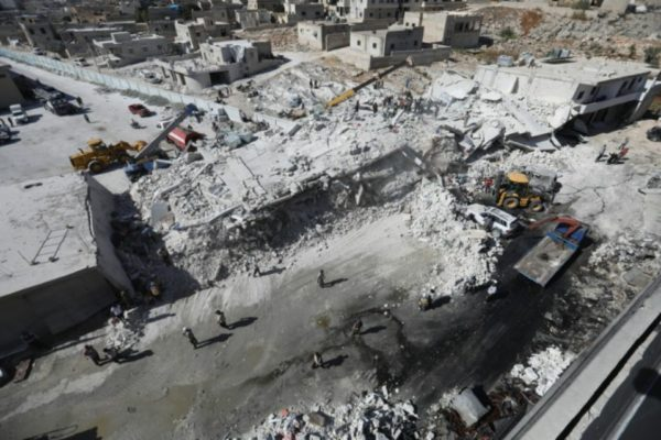 Douze morts dans l'explosion d'un dépôt d'armes en Syrie