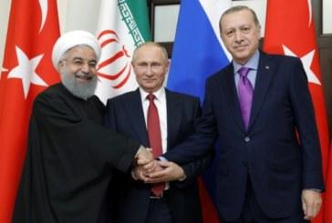 Syrie: Sommet tripartite entre Moscou, Téhéran et Ankara le 7 septembre en Iran