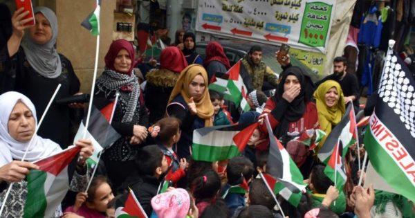 La Palestine invite les Etats-Unis à ne pas se mêler de la question des réfugiés palestiniens