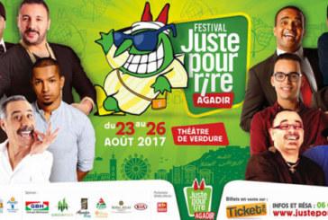 """Les humoristes amazighs ouvrent le bal du festival """"Juste pour rire"""" d'Agadir"""