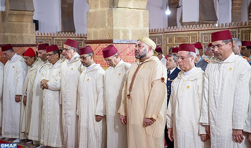 SM le Roi, accomplira mercredi la prière de l'Aïd Al Adha à la mosquée Ahl Fès à Rabat